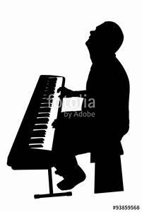 Piano Player Silhouette   www.pixshark.com - Images ...