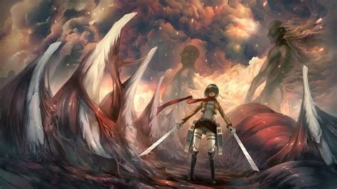 attack  titan wallpaper
