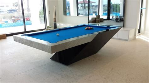 custom pool table by mitchell exclusive billiard designs contemporary home bar other