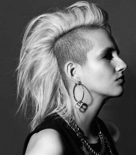 shaved hairstyles  women feed inspiration