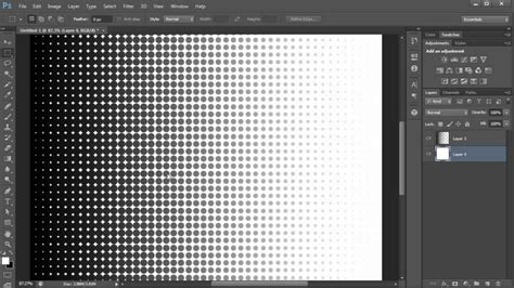photoshop tutorial create  halftone effect hd youtube