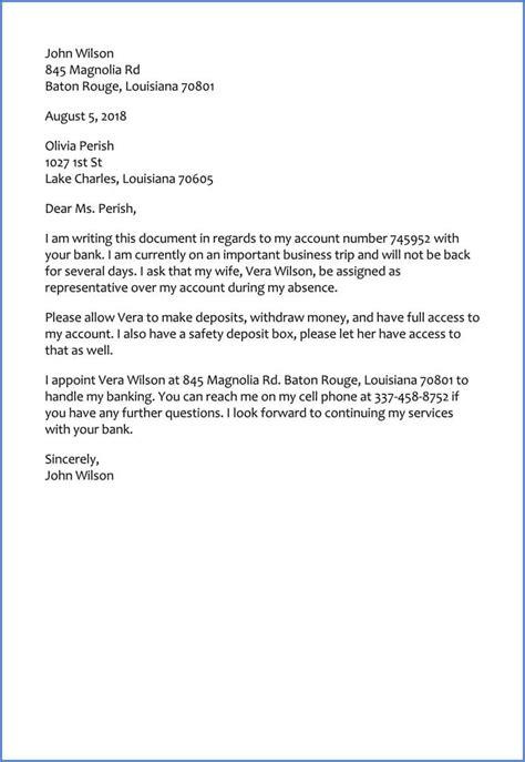 sample letter  bank  release funds sample letter