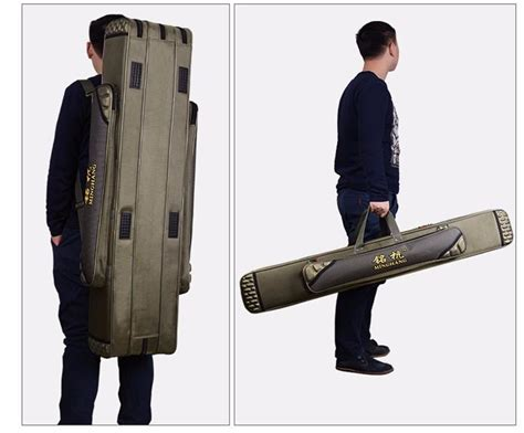 fishing backpack cm cm double layer fishing rod