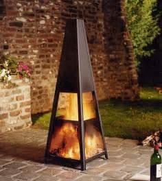 Outdoor Modern Fireplace Design Ideas