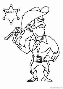 Woody Cowboy Pages Coloring Pages