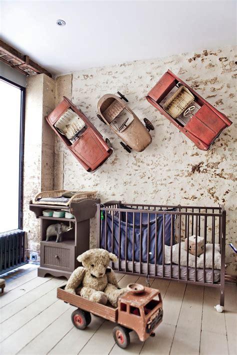 chambre style loft industriel chambre garcon voiture