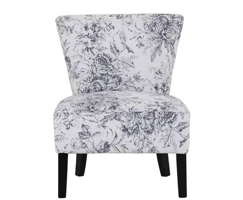 crawley floral fabric bedroom chair  armchairs