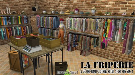 Around the Sims 4   Custom Content Download   La Friperie