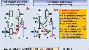 Emitterschaltung Berechnen : elektronik tutorial 08 3 bipolare transistoren ap einstellung stabilisierung youtube ~ Themetempest.com Abrechnung