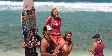 Bethany Hamilton Wins Pipeline Womens Pro Surf