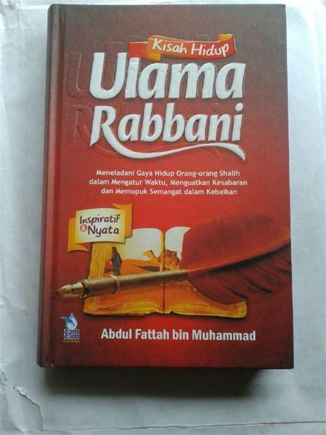 Buku Kisah Hidup Ulama Rabbani