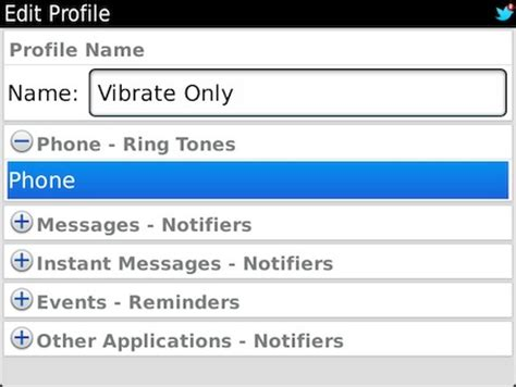 apps that make your phone vibrate how to setup a vibrate only profile on your blackberry