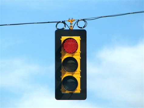 What Is A Red Light Violation Under California Law?