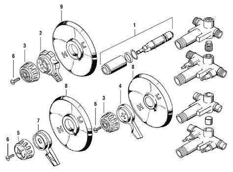 Eljer Faucet Handles by Kohler Shower Head Diagram Kohler Free Engine Image For