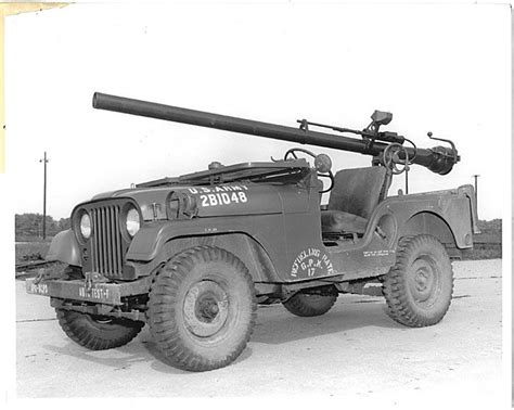 military jeep with gun jeep m 38a1 with recoilless rifle 106mm jeep m38a1