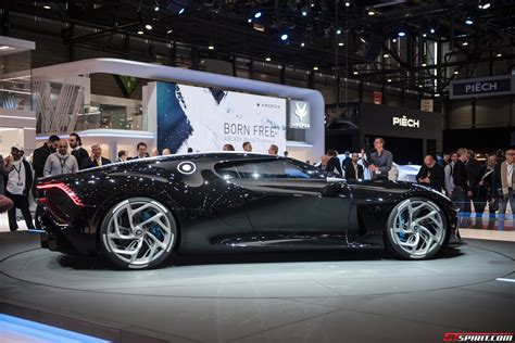 """It's called la voiture noire, and bugatti says it's the most expensive new car of all time, costing its owner $12.5 million before taxes (or $18.9 million including them). Geneva 2019: 1 of 1 Bugatti """"La Voiture Noire"""" - GTspirit"""