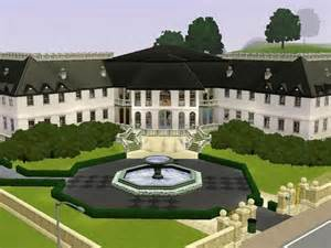 sim mansion photo gallery the sims resource fleur blanche mansion by awellmax sims