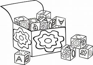 Coloring Pages Of Alphabet Blocks: Blocks coloring page ...