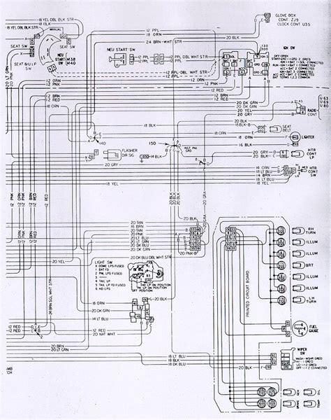 Camaro Dash Interior Wiring Schematic