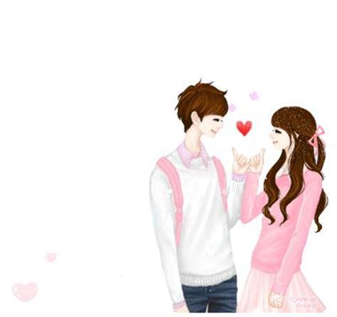 foto anime korea romantis gambar kartun korea romantis kata2