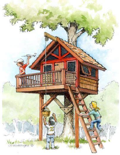 Design Plans by Kid S Treehouse Plans B4ubuild