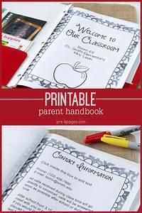 parent handbook faq39s for preschool pre k and kindergarten With teacher handbook template