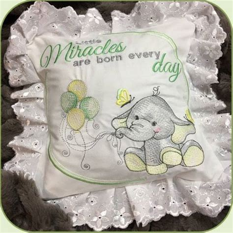 Stitch Delight: SDS1134 ITH Baby Ellie Pillow, All Design