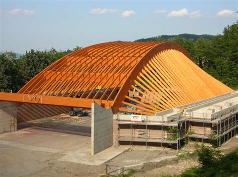 Regular Or Steelreinforced Laminated Wood Structures