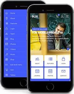 BLIX Mobile WEB APP Template
