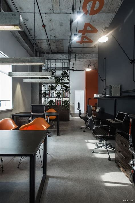 cool offices  industrial style