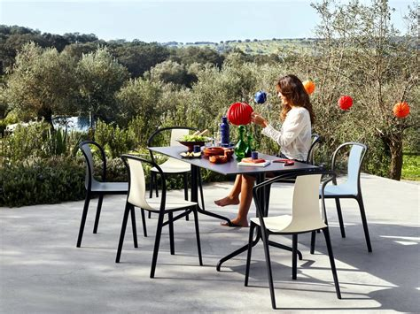 chaise bouroullec vitra belleville table outdoor by ronan erwan bouroullec