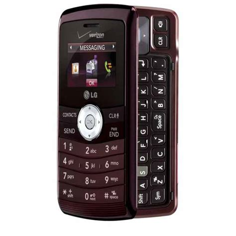 cheap verizon smartphones lg env3 vx9200 verizon page plus used phone maroon