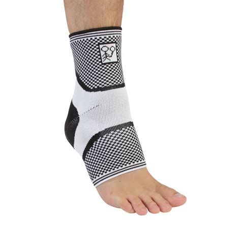 elite knitted snug series ankle support