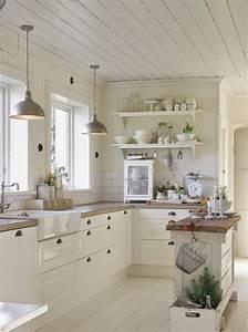 31 cozy and chic farmhouse kitchen decor ideas digsdigs for Farmhouse kitchen design ideas