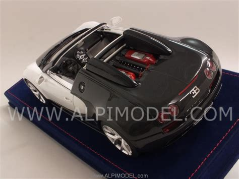 Mr-collection Bug04c Bugatti Vitesse (carbon Black/white