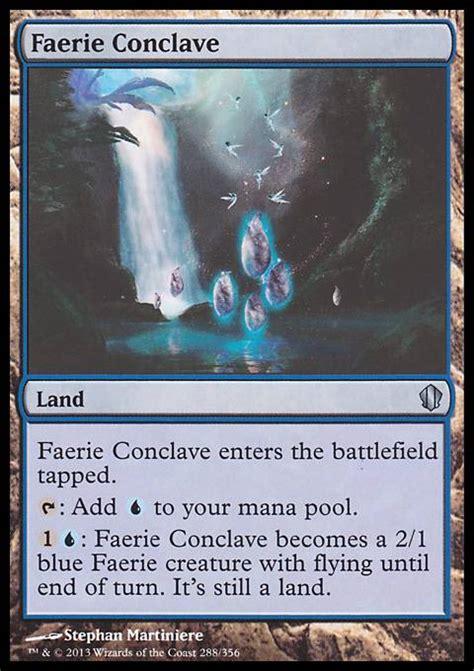 Faerie Deck Mtg Modern by Faerie Conclave Mtg Card