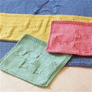 Free Knitting Pattern: Animal Washcloths DailyCraft