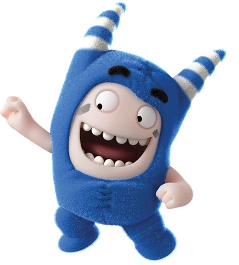 Check out this transparent Oddbods Pogo happy PNG image