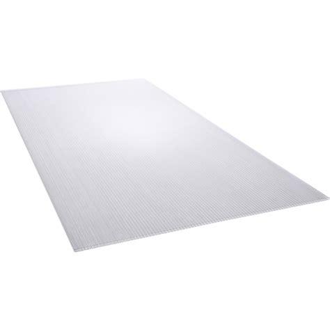 credence cuisine polycarbonate plaque polycarbonate alvéolaire clair lisse l 200 x l 105