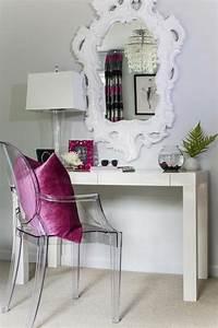 Chaise Transparente Fly : chaise coiffeuse baroque ~ Teatrodelosmanantiales.com Idées de Décoration