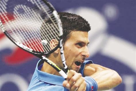 I watched the match and this flying backhand dtl is causing the most problem to nadal even to his forehand. Djokovic overcomes scare | The Herald