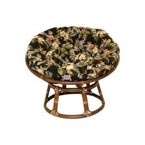 rattan papasan chairs with polyester cushions at