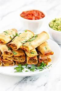 baked chicken taquitos recipe eats