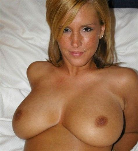 Hot Blonde Big Natural Tits