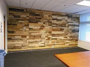 Pallet Wood Powered Accent Wall Pallet Ideas: Recycled / Upcycled Pallets Furniture Projects
