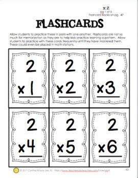 multiplication flashcards and charts 0 12 with printable answers backs
