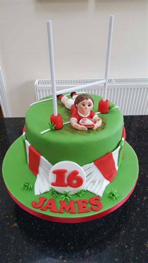 ideas  rugby cake  pinterest football