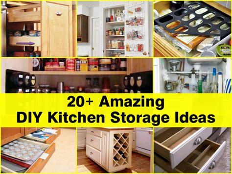 storage kitchen ideas 20 amazing diy kitchen storage ideas
