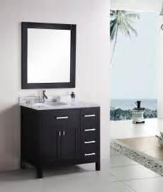 36 quot london dec076d single sink vanity set bathroom