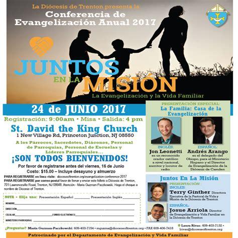 conferencia anual de evangelizacion diocese trenton